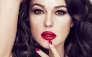 Яркие тени для век: как создать эффектный макияж? Как правильно делать макияж с яркой помадой