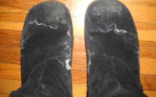 Как очистить замшу от солевых разводов. Избавляемся от врагов замши: грязи и соли