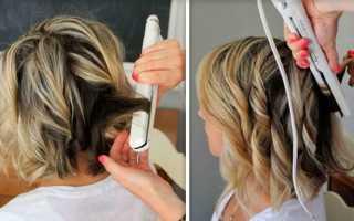 Как сделать волнистые волосы с помощью утюжка и других средств. Как сделать волосы кудрявыми