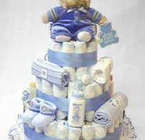 Торт из памперсов своими руками: мастер класс. Торт из памперсов мастер-класс