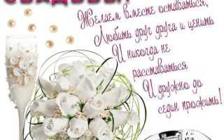 Поздравления в прозе с днем свадьбы опекуна. Поздравление со свадьбой в прозе (своими словами)
