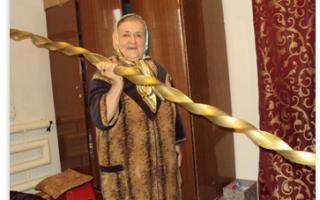 О физических кондициях женщин: иллюстрации. Супербабушка из дагестана Самая сильная бабушка в мире