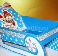 Сани из картона декорации. Делаем сами для Деда Мороза сани! Из фетра и формиама