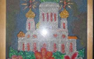 Картины из крупы схемы. Поделки из семян и круп своими руками. Картина из пшена «Мимоза»