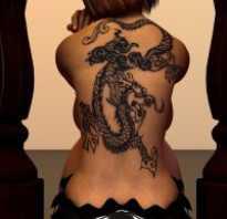 Значение татуировки дракон. Татуировки девушек с драконом: значение, идеи и эскизы