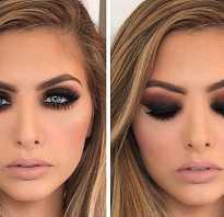 Красивый макияж с помощью карандаша и туши. Такой разный smokey. Модный «Smoky eyes»