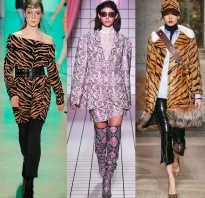 Новые коллекции одежды осень зима. Анималистический тотал лук: леопардовый принт