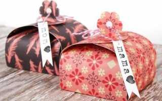 Как сделать новогоднюю упаковку в домашних условиях. Как сделать новогоднюю коробку своими руками