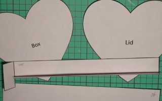 Коробочка конфета из бумаги шаблон. Как сделать квадратную коробку из картона своими руками