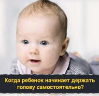 Во сколько держат голову младенцы. Когда ребенок начинает держать головку уверенно