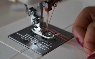 Шов двойной иглой на машинке. Как заправить и шить двойной иглой на швейной машине