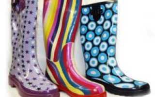 Чистим резиновые сапоги. Как грамотно ухаживать за резиновой обувью Уход за резиновыми сапогами
