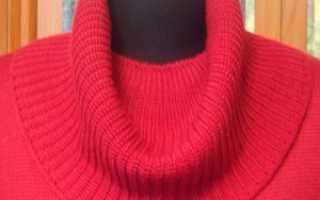 Схемы вязания воротников для кофт. Как связать воротник хомут спицами, варианты схем и описания