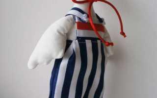 Интерьерная игрушка «Гусь» в стиле тильда. Маска гуся и маска пингвина Гусь из ткани своими руками