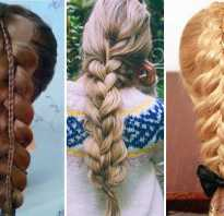 Объёмные косы как плести. Двойная коса, как сделать объемную косу из двух косичек
