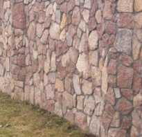 Металлический забор из камня. Установка опорных столбов. О видах камня для забора