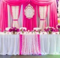 Как красиво оформить свадебный стол. Стили оформления стола молодоженов на свадьбу