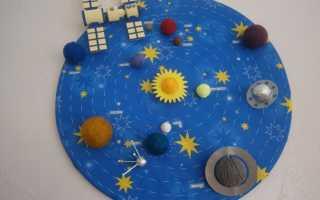 Костюм планеты земля своими руками. Как сделать космические корабли своими руками