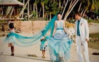 Свадебный букет в морском стиле. Идеи для свадьбы в морском стиле: оформление и сценарий