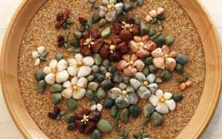 Поделки из морских камушек руками. Что можно сделать из камней – фото и мастер-классы