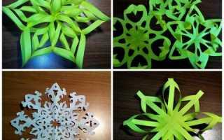 Необычные снежинки своими руками. Как вырезать красивые снежинки своими руками, схемы снежинок