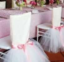Свадебный декор: идеи украшения стульев. Как украсить стулья на свадьбу: оформление и декор