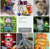 Вязание котёнка. Вязание игрушек крючком — схема кошки. Вязаный кот от Алана Дарта