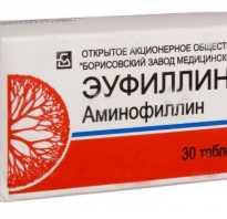 Влияет ли эуфиллин на опухоль. Эуфиллин при беременности инструкция, дозировка детям, отзывы