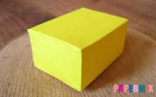 Как сделать модель параллелепипеда из картона. Как сделать параллелепипед из картона