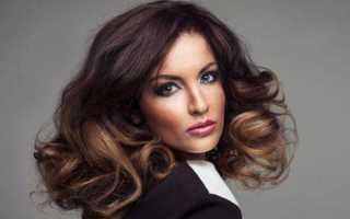 Стильный и экстравагантный шатуш для тёмных волос — хит на все времена! Шатуш на короткие волосы