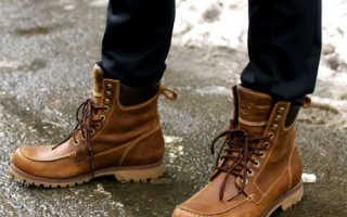Ботинки мужские осень зима. Обувь с принтом. Модная мужская обувь в классическом стиле