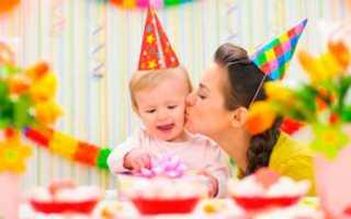 Что приготовить на первый день рождения малыша. Годик ребенку как отметить день рождение весело