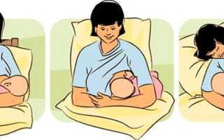Как правильно кормить новорожденного из под подмышки. Кормление грудью лежа: нюансы