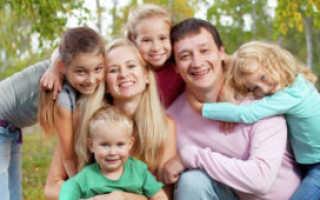 Как признать семью многодетной. Какая семья считается многодетной и каким правами обладает