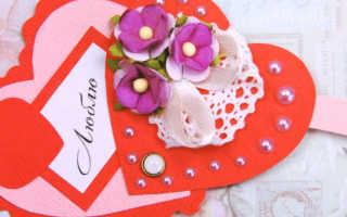 Как сделать оригинальные валентинки. Много идей. Как сделать валентинку своими руками из бумаги