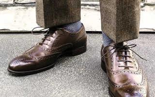 Способы шнуровки. Как завязывать шнурки на мужской обуви: практикуемся вместе
