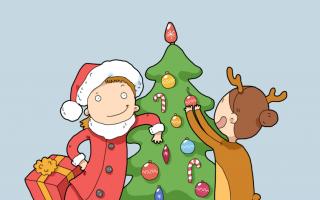 Новогодние письма на английском. Как поздравить с Новым Годом и Рождеством на английском