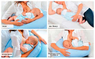 Позы прикладывания ребенка при лактостазе. Лучшие позы для кормления грудничков