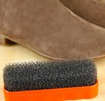 Как убрать соляные разводы с замшевой обуви. Как очистить замшевые сапоги от соли