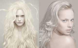 Как покрасить карие волосы в белые. Кому идет белый цвет волос и как получить идеальный оттенок